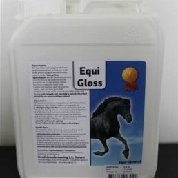 Equi gloss spray 2,5 ltr navulling