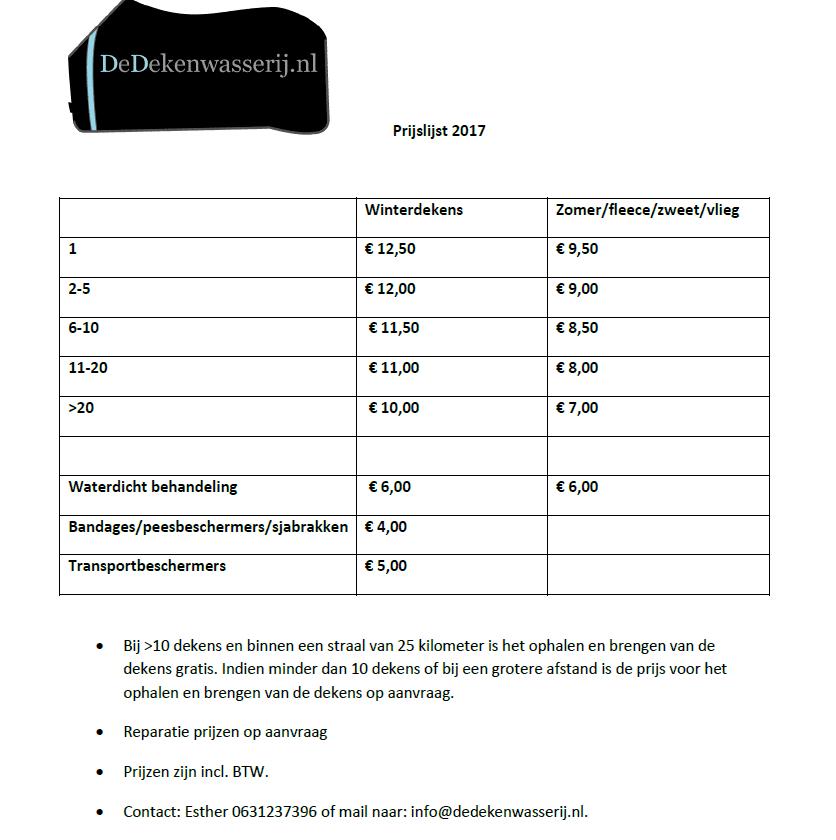 prijslijst-2017-de-dekenwasserij